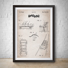 Load image into Gallery viewer, Splash Mountain Patent Vintage Wall Print Art