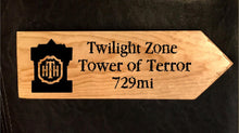 Load image into Gallery viewer, Your Miles to Tower of Terror Personalized Sign
