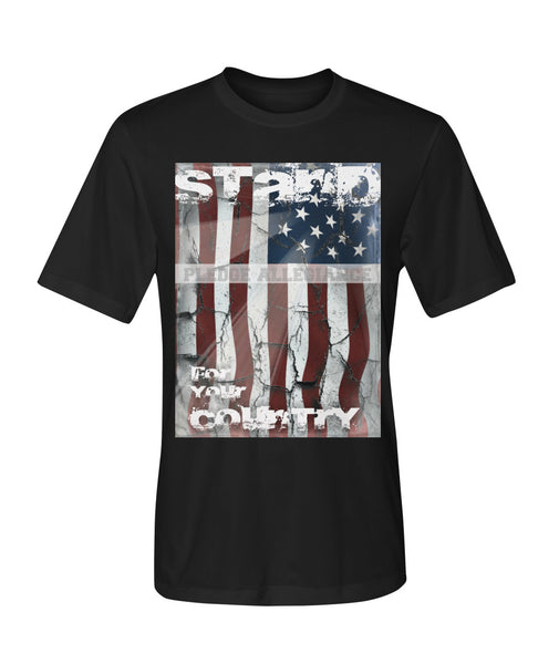 Stand For Your Country Dry Sport Tee