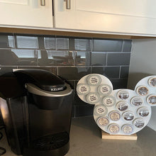 Load image into Gallery viewer, Customized 3 Circle - Keurig K-Cup Coffee Holder