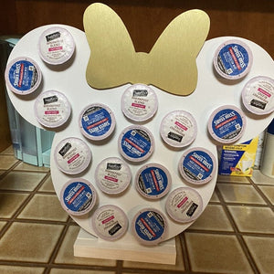 Customized Color Bow Keurig K-Cup Coffee Holder