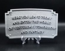 Load image into Gallery viewer, DL Main Street Entranceway Welcome Plaque - Antique Hammered Metal Look