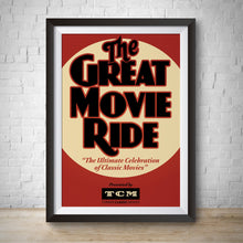 Load image into Gallery viewer, Great Movie Ride - Vintage Attraction Poster - Disney Hollywood Studios