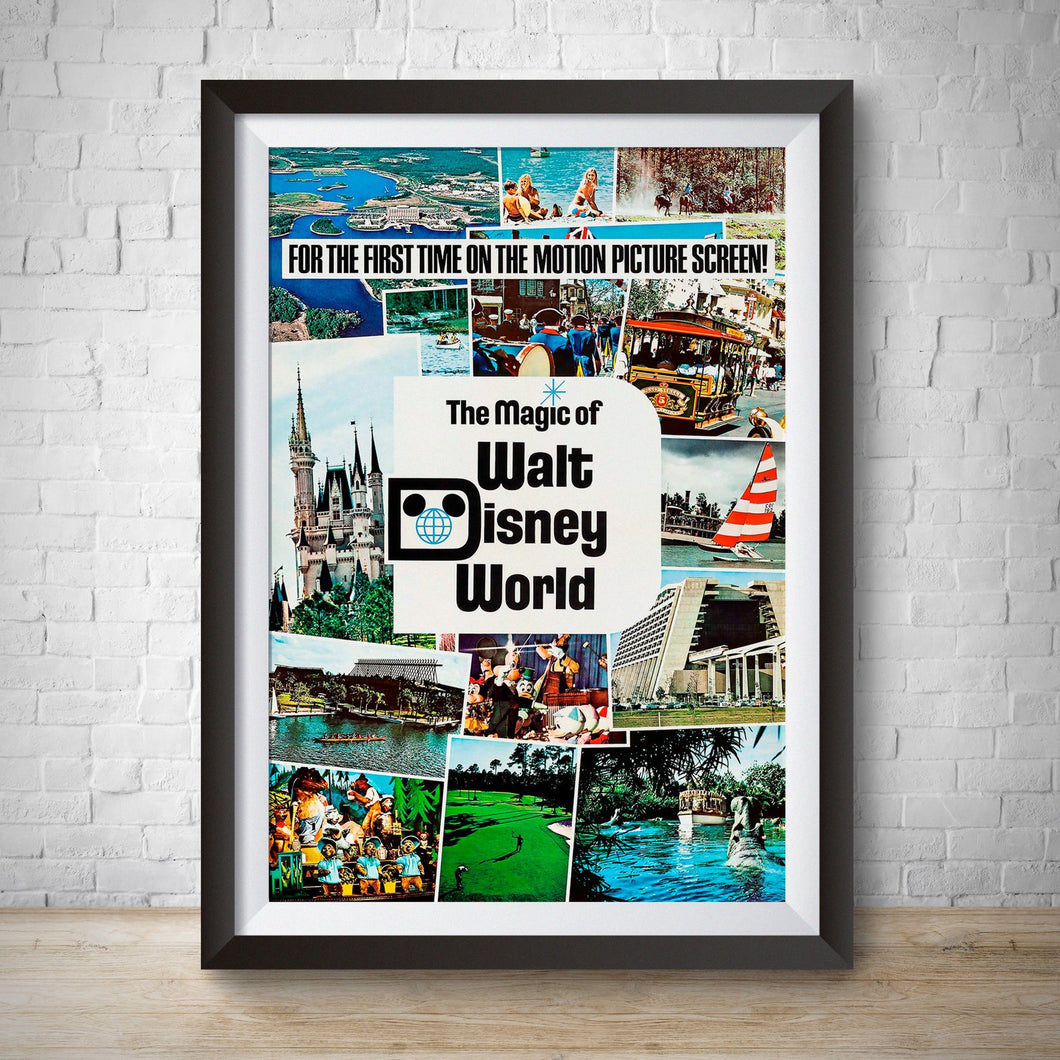 Magic of Walt Disney World - Vintage Movie Poster