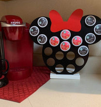 Load image into Gallery viewer, Customized Color Bow Keurig K-Cup Coffee Holder