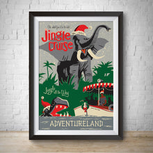 Load image into Gallery viewer, Jingle River Cruise - Adventureland - Vintage Attraction Poster