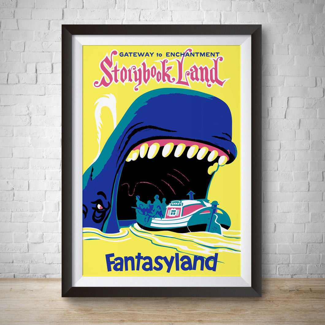Storybook Land - Vintage Fantasyland Attraction Poster