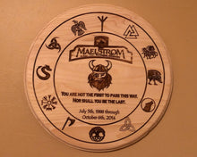 Load image into Gallery viewer, Maelstrom Commemorative Norway Plaque