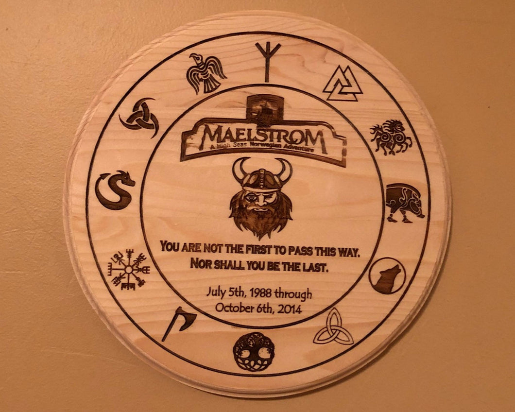 Maelstrom Commemorative Norway Plaque