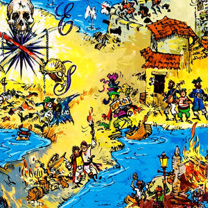 Pirates of the Caribbean Ride Map - New Orleans Square