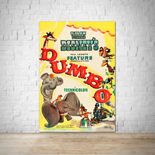 Load image into Gallery viewer, 1941 Dumbo Vintage Movie Poster