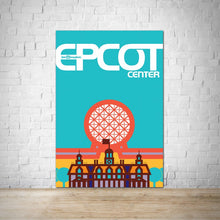 Load image into Gallery viewer, Epcot Center Vintage WDW Poster