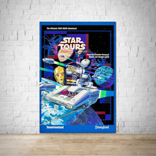 Load image into Gallery viewer, Star Tours - Vintage Disneyland Attraction Poster