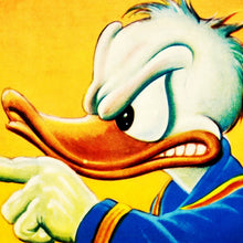 Load image into Gallery viewer, 1951 Donald Duck Movie Poster - Out of Scale -Vintage Movie Poster