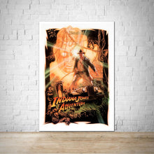Load image into Gallery viewer, Indiana Jones Adventure - Disneyland Vintage Attraction Poster
