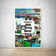 Load image into Gallery viewer, Magic of Walt Disney World - Vintage Movie Poster