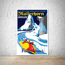 Load image into Gallery viewer, Matterhorn - Vintage Fantasyland Attraction Poster