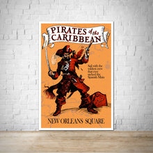 Load image into Gallery viewer, Pirates of the Caribbean - New Orleans Square - Vintage Poster