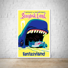 Load image into Gallery viewer, Storybook Land - Vintage Fantasyland Attraction Poster