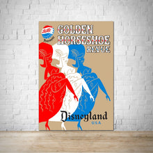 Load image into Gallery viewer, Golden Horseshoe Revue - Vintage Disneyland Attraction Poster