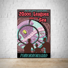 Load image into Gallery viewer, 20000 Leagues Under the Sea - Tomorrowland - Vintage Attraction Poster