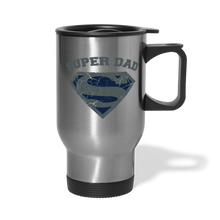 Load image into Gallery viewer, Super Dad Travel Mug - silver