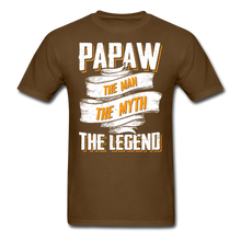 Load image into Gallery viewer, Papaw the Legend T-Shirt - brown