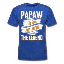 Load image into Gallery viewer, Papaw the Legend T-Shirt - mineral royal