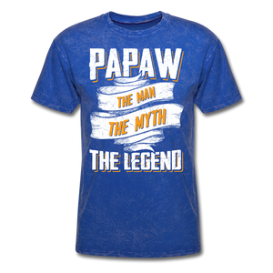 Papaw the Legend T-Shirt - mineral royal