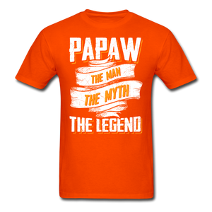 Papaw the Legend T-Shirt - orange
