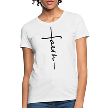 Load image into Gallery viewer, Faith - Women's Classic T-Shirt - white