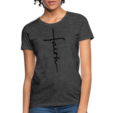 Load image into Gallery viewer, Faith - Women's Classic T-Shirt - heather black