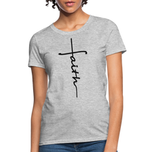 Load image into Gallery viewer, Faith - Women's Classic T-Shirt - heather gray