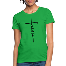 Load image into Gallery viewer, Faith - Women's Classic T-Shirt - bright green