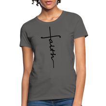 Load image into Gallery viewer, Faith - Women's Classic T-Shirt - charcoal