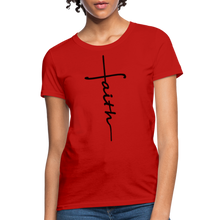 Load image into Gallery viewer, Faith - Women's Classic T-Shirt - red