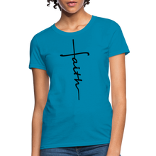 Load image into Gallery viewer, Faith - Women's Classic T-Shirt - turquoise
