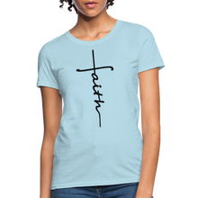 Load image into Gallery viewer, Faith - Women's Classic T-Shirt - powder blue