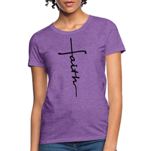 Load image into Gallery viewer, Faith - Women's Classic T-Shirt - purple heather