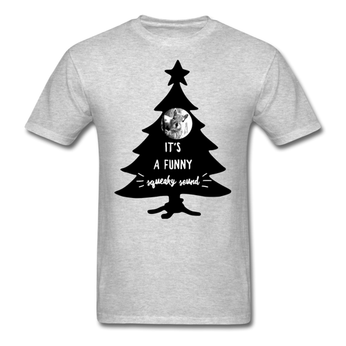 It's A Funny Squeaky Sound - Christmas Vacation-Inspired Class T-Shirt - heather gray