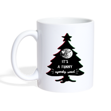 Load image into Gallery viewer, It's A Funny Squeaky Sound - Christmas Vacation-Inspired Coffee Mug - white