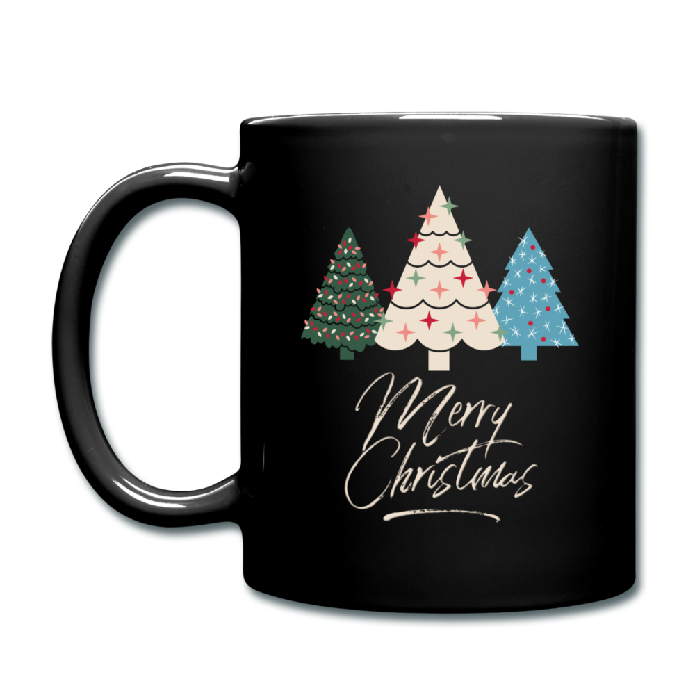 Merry Christmas Mug - black