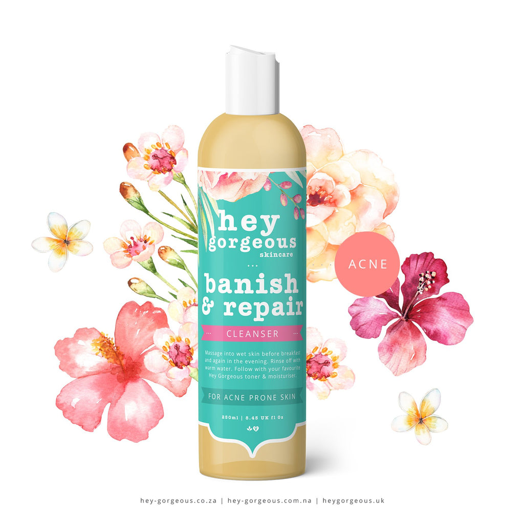 BANISH & REPAIR CLEANSER FOR BLEMISH FREE SKIN