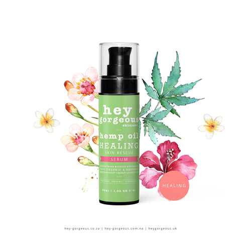 HEMP OIL HEALING SKIN RESCUE SERUM