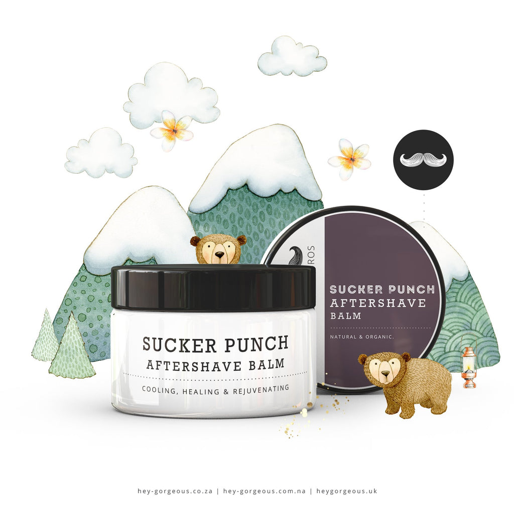 HG FOR BROS SUCKER PUNCH AFTER SHAVE BALM