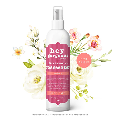 ULTRA LUXURIOUS ROSEWATER TONER