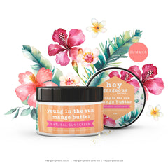 YOUNG IN THE SUN MANGO BUTTER NATURAL SUNSCREEN
