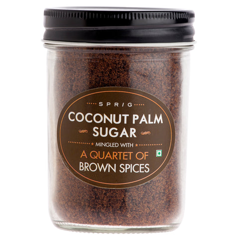Sprig Coconut Sugar with Brown Spices