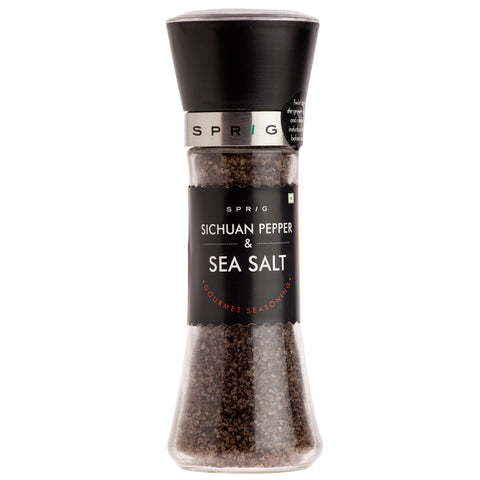 Sprig Sichuan Pepper and Sea Salt