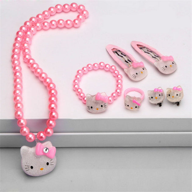 Hello Kitty Jewellery Set